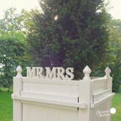 Lettres bois Mr & Mrs