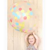 Ballon géant confettis color mix