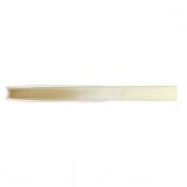 Ruban satin double face ivoire - largeur 6 mm