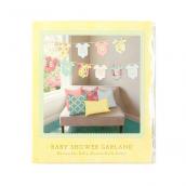 Guirlande body baby shower
