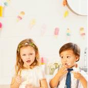 Guirlande ice cream pastel