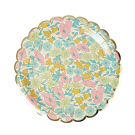 Assiettes dessert poppy liberty