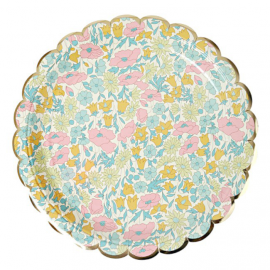 Assiettes poppy liberty