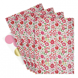 Sachets confiserie liberty rose