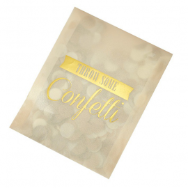 Sachets confettis glam or et cream - Lot 10