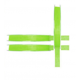 Fin Ruban organdi vert - 7mm