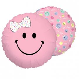 Ballon smiley fille