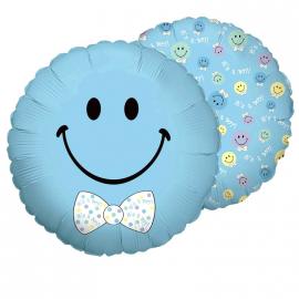 Ballon smiley garçon