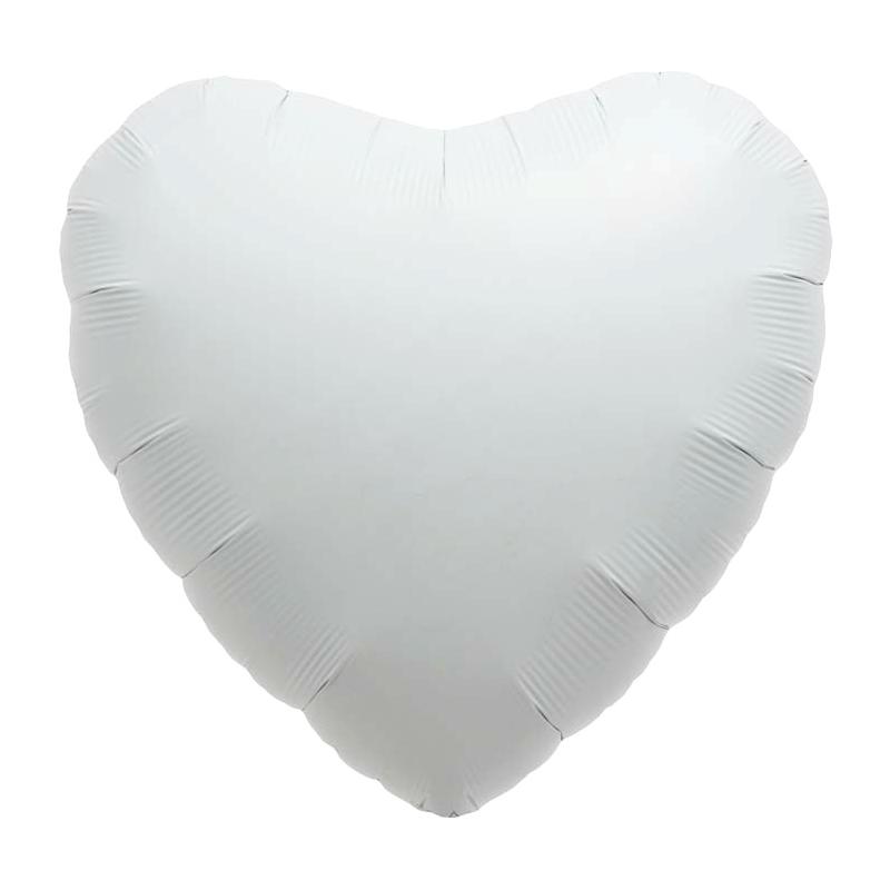 Accueil > Déco Mariage > Ballons Mariage > Ballon coeur blanc