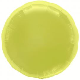 Ballon rond citron