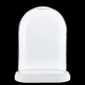 Globle mariée socle blanc