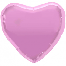 Ballon coeur rose