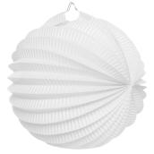 Lanterne accordéon blanche