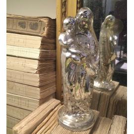 Vierge verre mercurisé