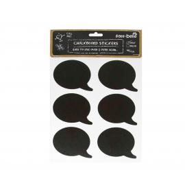 Stickers bulle tableau noir