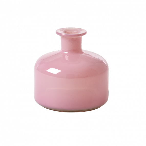 Vase trendy opaline old rose - GM