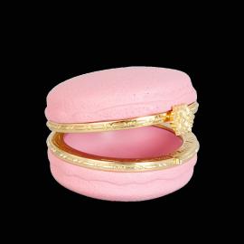 Boite macaron rose