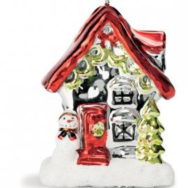 Bougie maison Père Noël