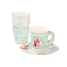 Gobelets tasse floral romance
