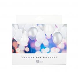 Ballons harmonie blanc