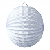 Lampion boule blanc