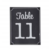 Stickers numéros de table