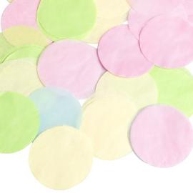 Grands confettis multi - Tube de 100