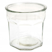 Pot verre confiture