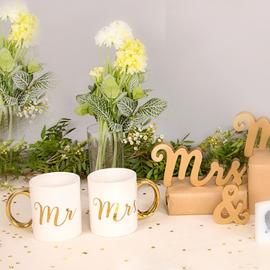 Mug duo Mr & Mrs or