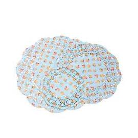 Assortiment napperons ronds cupcakes - 36 pièces