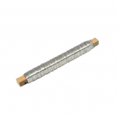 Bobine fil de fer argent - 20 mètres
