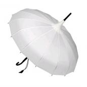 """Parapluie """"mariage heureux"""" blanc"""