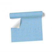 Chemin de table, set de table vichy bleu - Rouleau 3m 60