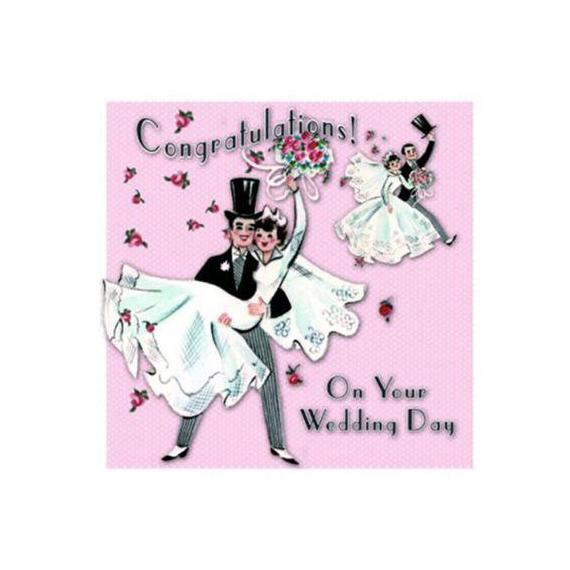 Carte wedding day - Sous blister avec enveloppe