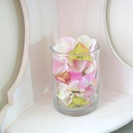 decoration de table globe verre shabby chic. Black Bedroom Furniture Sets. Home Design Ideas