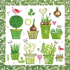 Serviettes papier Lovely garden - Lot de 20
