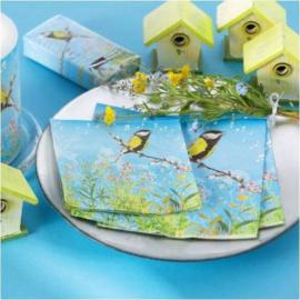 Serviettes papier twittering bird - 20 serviettes