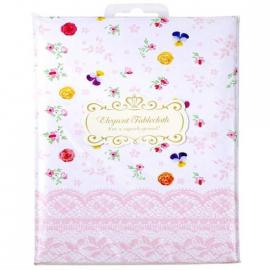 Nappe papier fleurettes vintage