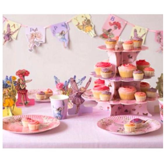 Assiettes pink féerie