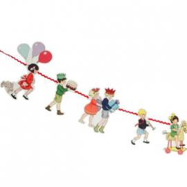 Guirlande ruban les bons enfants - 3 mètres