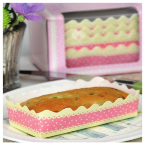 Mini moules à gâteaux festonnés - Lot de 12
