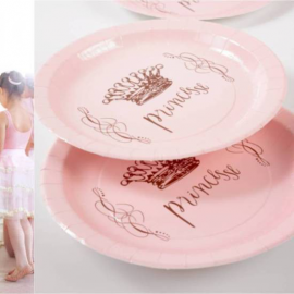 Assiettes rose Pretty Princesse