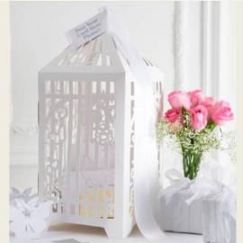 Urne de mariage cage