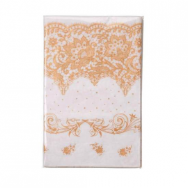 Nappe papier jolie table gold