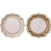 Plats Jolie table gold - Lot de 4
