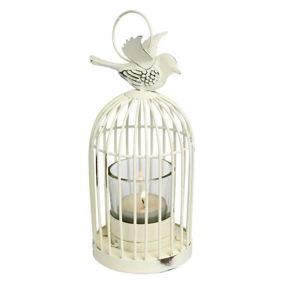 Lanterne cage oiseau vintage PM
