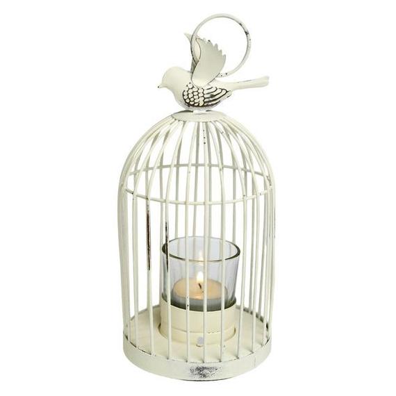 Decoration de table lanterne cage decoration oiseau - Cage oiseau decoration ...
