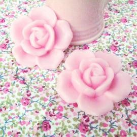 Savon rose pastel