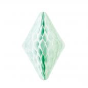 Décoration cristal papier vert