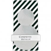 Set grands confettis jolis argent -300 pièces